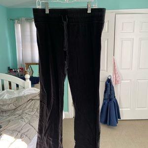 Black Yoga Bootcut Pants